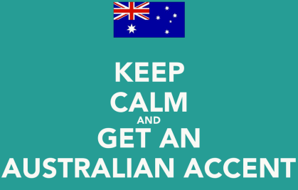 Aussie accent