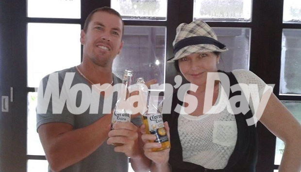 Schapelle Corby with brother Michael. Image Source: Woman's Day