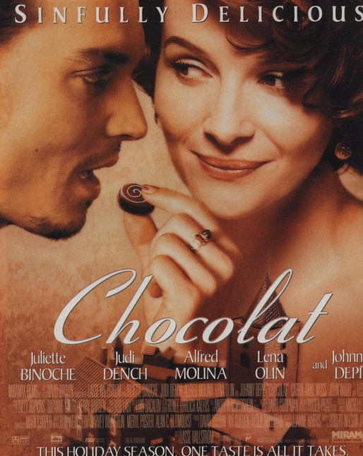 We don't know what's more irresistibly tempting.. chocolate or Johnny Depp?!