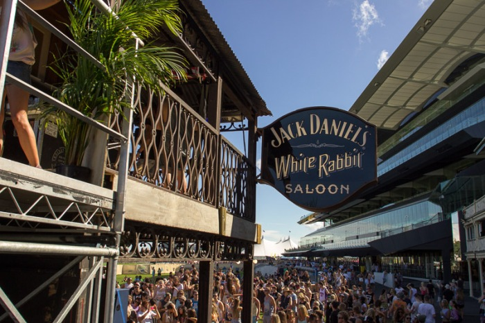 The Jack Daniel's White Rabbit Saloon was the place to be at Sydney's Future Music Festival