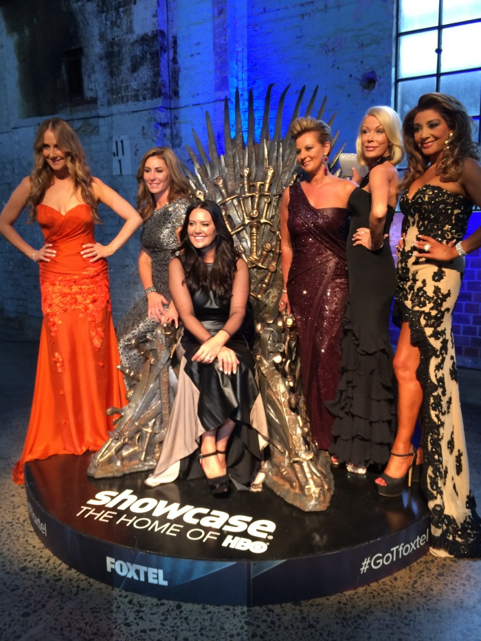 The Real Housewives were dressed to impress in these dazzling gowns