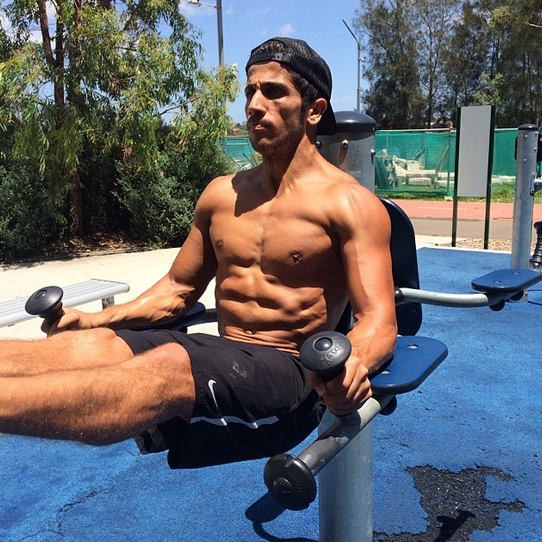 The actor regularly flaunts the hot results of his fitness regime on social media