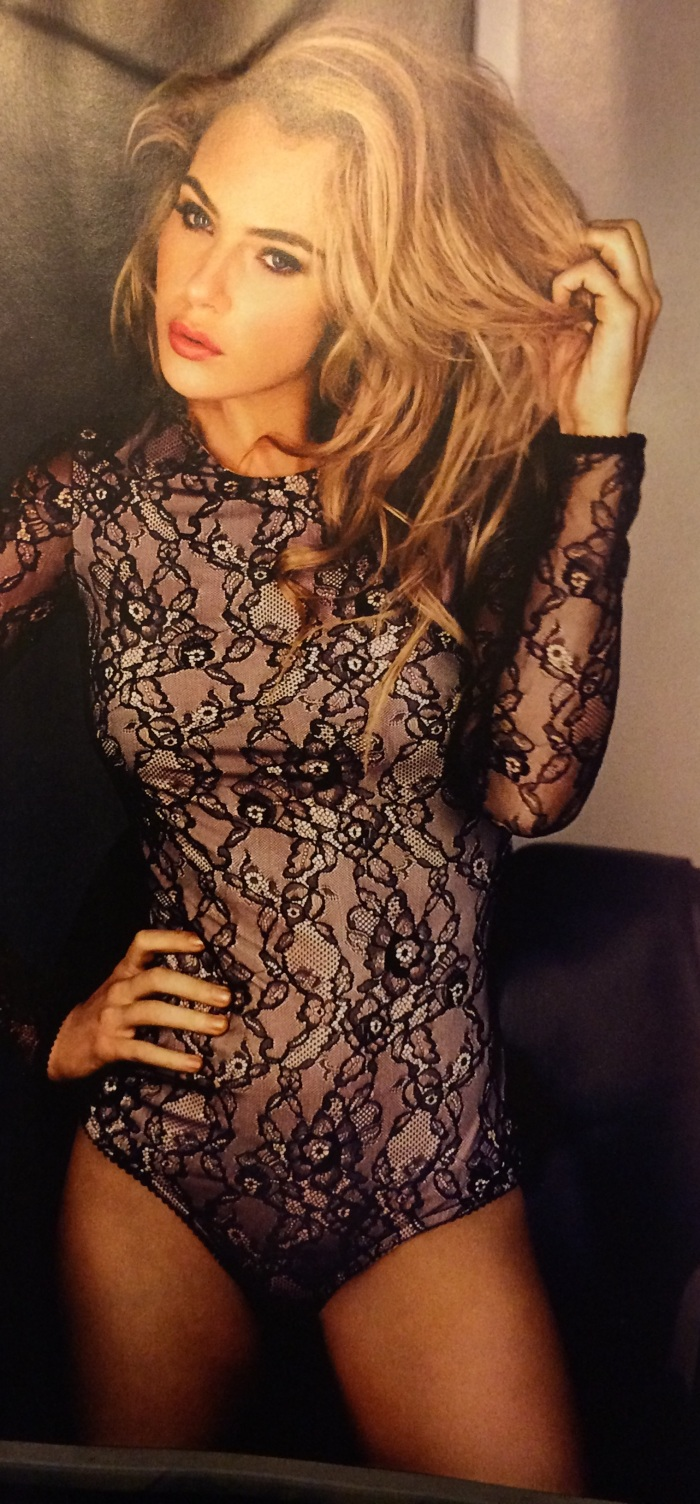 Love Child star Jessica Marais stuns in a sultry lace number for Who Magazine's Beautiful People shoot Image Source: Who Magazine