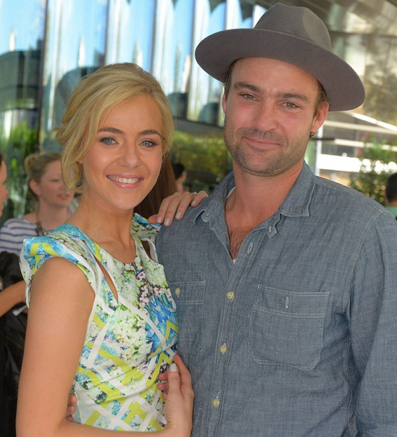 Matt Le Nevez to join Jessica Marais and the rest of the Love Child cast for Season Two  Image Source: Channel Nine via Daily Mail Australia