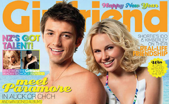 The former Shortland Street star has been a magazine pin-up