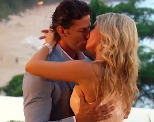 The Bachelor Australia's Tim Robards & Anna Heinrich  Image Source: Channel Ten