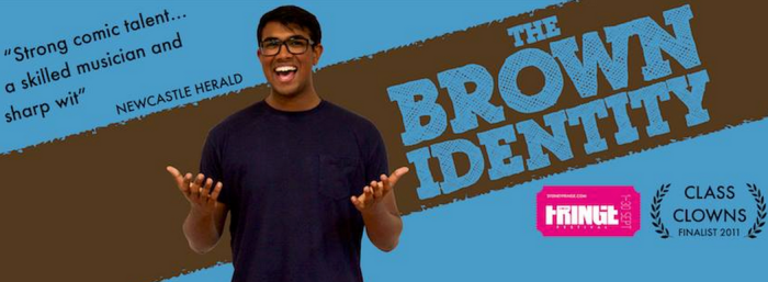 Rowan Thambar has brought his comedy show The Brown Identity to Sydney