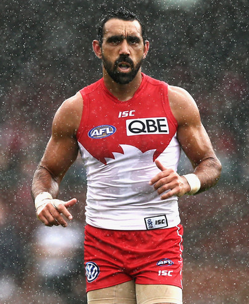 Adam Goodes Image Source: Zimbio