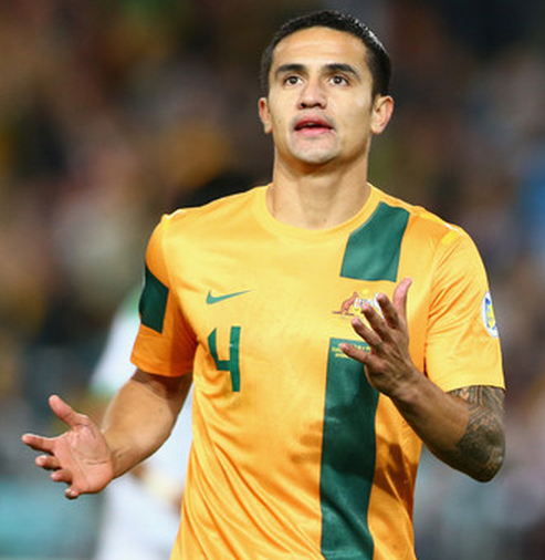 Tim Cahill Image Source: Zimbio
