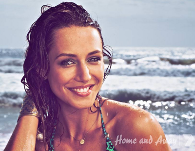 Isabella Giovinazzo stars as Phoebe Nicholson on Home And Away  Image Source: Channel Seven