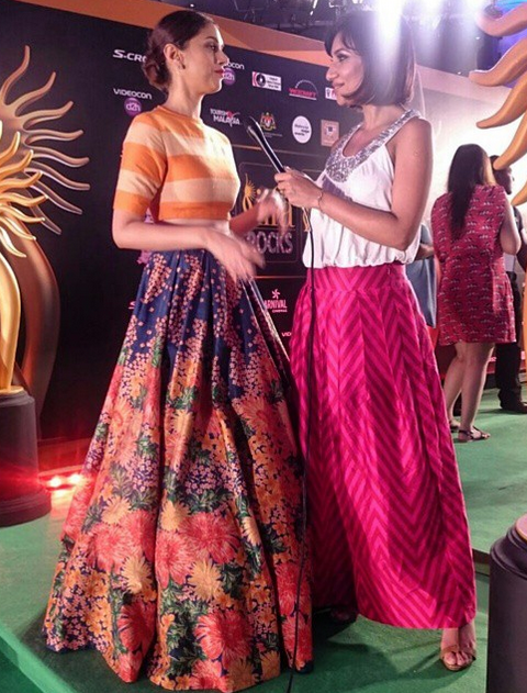 Malini working the green carpet at the 2015 IIFA Awards Image Source: Miss Malini Instagram
