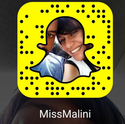 Malini was initially hesitant to use Snapchat but the social media application is now one of her most valuable tools to connect with readers