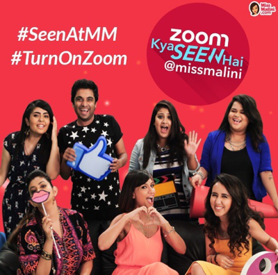 Malini has been filming her own Zoom TV show with her team Image Source: Miss Malini Instagram