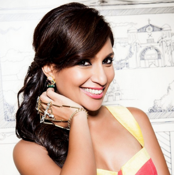 Malini Agarwal is  the founder of MissMalini.com Image Source: Miss Malini Twitter