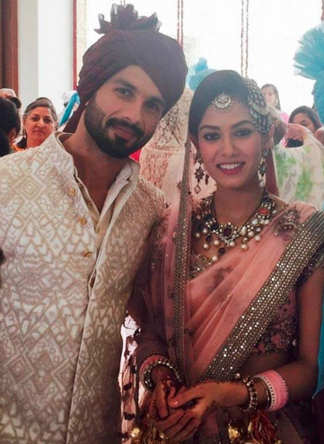 Malini loves the pastel bridal attire Mira Rajput chose for her wedding to Shahid Kapoor  Image Source: Facebook