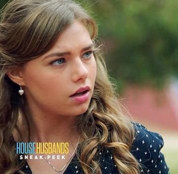 Indiana Evans is set to star in the new season of House Husbands Image Source: Channel Nine