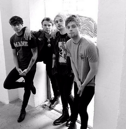 Image Source: 5 Seconds Of Summer Instagram
