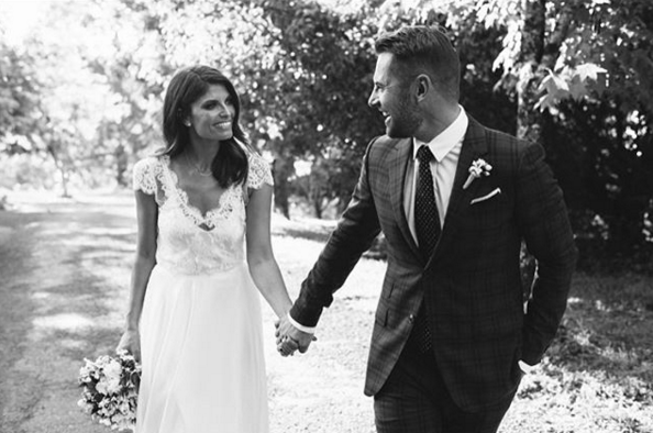 Zoe tied the knot with fellow actor Dan MacPherson in November 2015 Image Source: Dan MacPherson Instagram