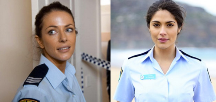 Which Home & Away cop is your all-time fave? Charlie Buckton played by Esther Anderson (left) or Katarina Chapman played by Pia Miller (right)? Image Source: Channel Seven