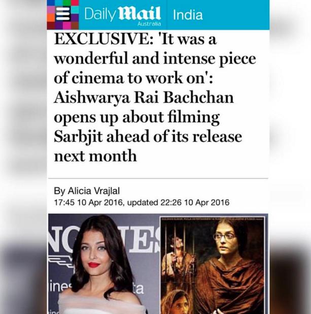 Aishwarya Rai Bachchan in Sydney