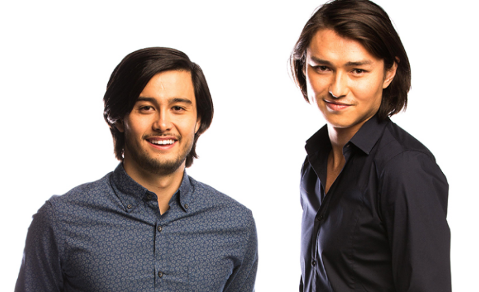 Takaya Honda (L) and Tim Kano (R) are joining Neighbours Image Source: Channel Eleven