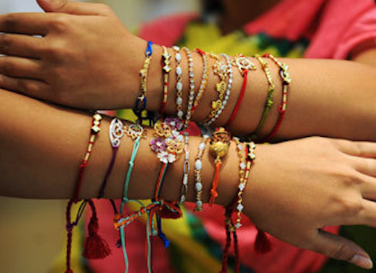 Earlier this month Hindus across the globe celebrated Raksha Bandhan - an auspicious festival that 'ritually celebrates the love and duty between brothers and their sisters'.