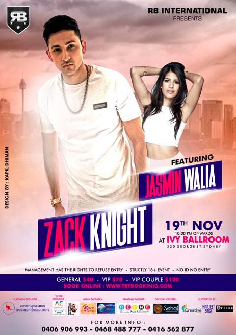 Meet Jasmin and Zack in Sydney!