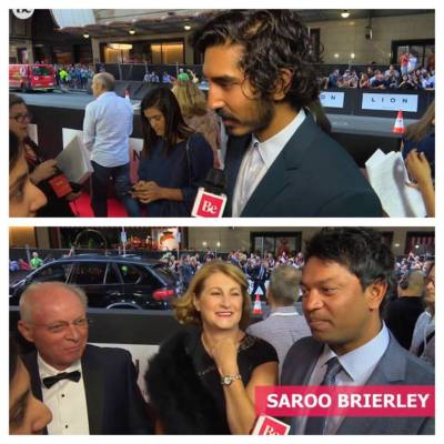 Interview Dev Patel and Saroo Brierley at Lion's Australian premiere