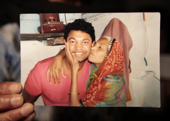 Saroo reconnected with his birth mother all those years later. Source: Saroo Brierley